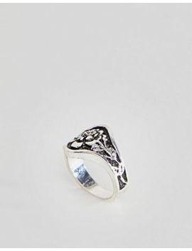 Asos Design Vintage Rose Pinky Ring by Asos Design