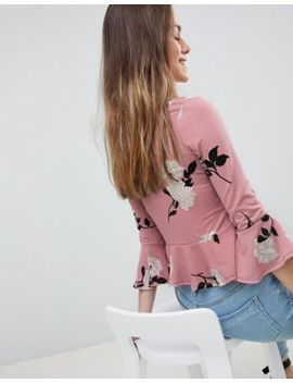 New Look Petite Ruched Top by New Look Petite