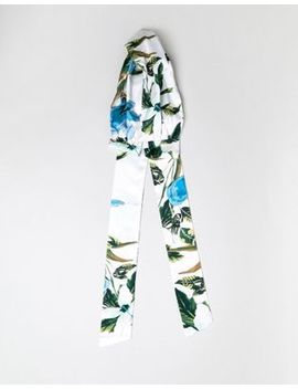 Asos Tropical Twist Block Headscarf by Asos Collection