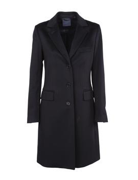 Aspesi Women's  Blue Wool Coat by Aspesi