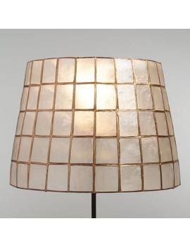 Gold Capiz Tapered Table Lamp Shade by World Market