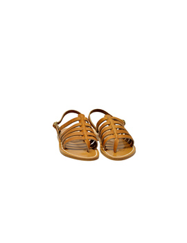 K Jacques Women's  Brown Leather Sandals by K. Jacques