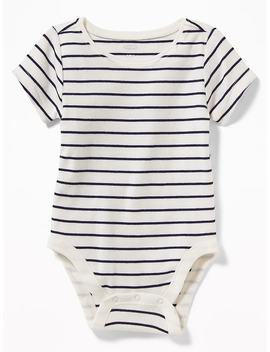 Patterned Jersey Bodysuit For Baby by Old Navy