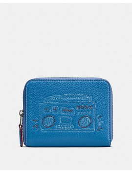 Coach X Keith Haring Small Zip Around Wallet by Coach