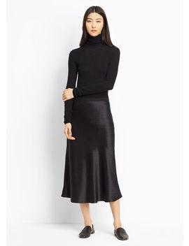 Vintage Polka Dot Slip Skirt by Vince