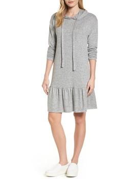 Drop Waist Hooded Dress by Caslon®
