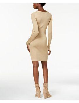 Metallic Sweater Dress by Michael Michael Kors