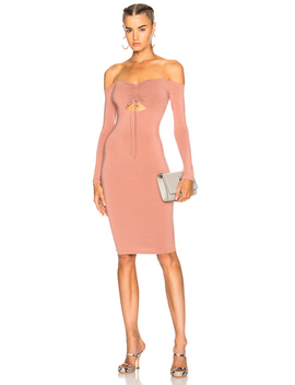 Cut Out Midi Dress by T By Alexander Wang
