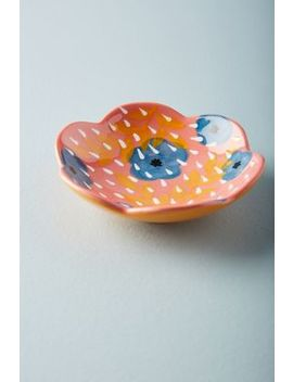 Kait Kelsey Floral Trinket Dish by Kait Kelsey