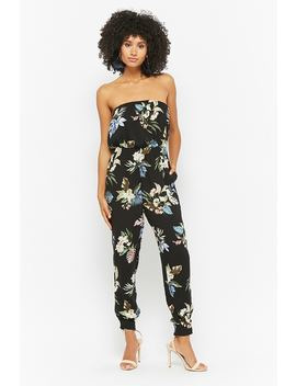 Floral Tube Jumpsuit by Forever 21