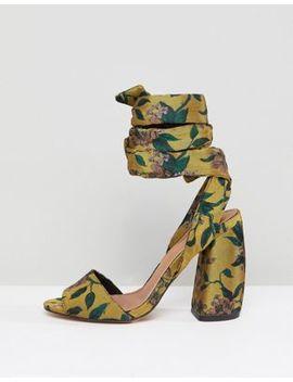Asos Harvest Heeled Sandals by Asos Design