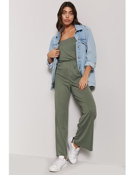 Ribbed Tube Jumpsuit by Forever 21