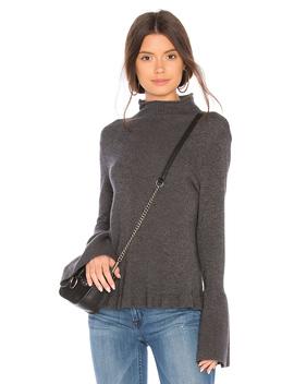 Ruffle Sweater by Brown Allan
