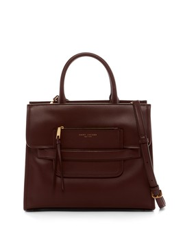 Madison Leather Tote Bag by Marc Jacobs