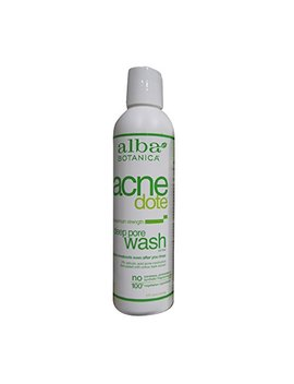 Alba Botanica Natural Acnedote Deep Pore Wash, 6 Ounce. (Pack Of 2) by Alba Botanica