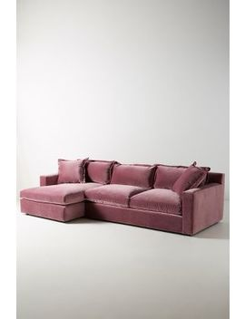 Velvet Katina Left Sectional by Anthropologie