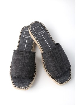 Bobbi Ash Denim Espadrille Slides by Dolce Vita