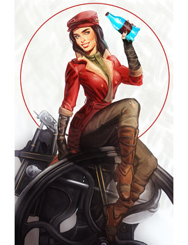 Fallout 4 Piper Wright Pinup Open Edition Art Print 11x17 Inch by Etsy