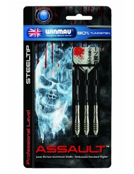 Winmau Assault 90 Percents Tungsten Professional Level Steel Tip Darts by Winmau