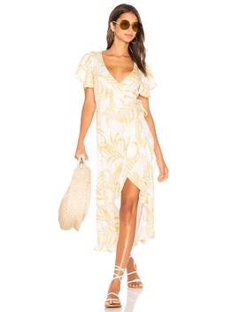 Paradise Waterfall Wrap Dress by Minkpink