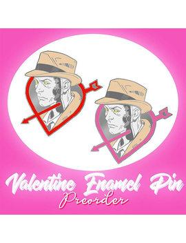 Valentine Soft Enamel Lapel Pin Preorder by Etsy