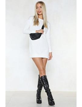 Raise The Temperature Sweater Dress by Nasty Gal