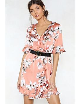 Leaf It To Me Floral Dress by Nasty Gal