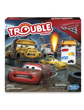 Cars 3 Trouble Board Game by Hasbro