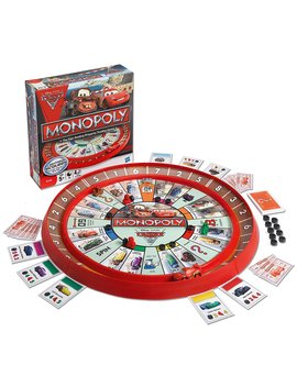 Monopoly Cars 2 Race Track Game by Monopoly