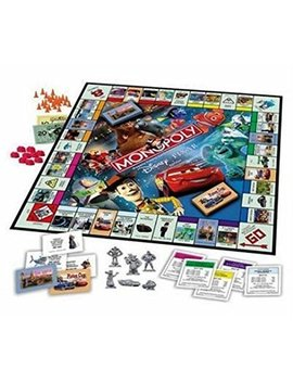 Monopoly Disney Pixar Edition Board Game by Hasbro