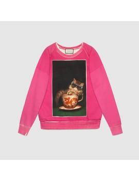 Ignasi Monreal Print Sweatshirt by Gucci