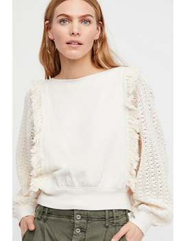 Faff & Fringe Pullover by Free People