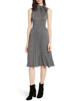 Metallic Knot Sweater Dress by Kate Spade New York