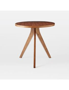 Tripod Table, Walnut by West Elm