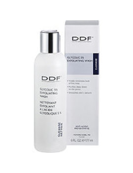 Online Only Glycolic 5 Percents Exfoliating Wash by Ddf