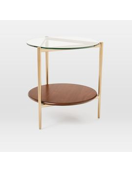 Mid Century Art Display Side Table by West Elm