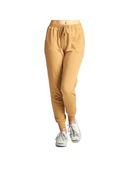 Womens Casual Lazy Pocket Drawstring Solid Jogger Pants P2103 by Genx