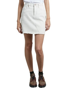 Stone Denim Miniskirt by Volcom