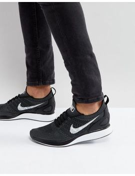 Nike 'fast Pack' Air Zoom Mariah Flyknit Racer Sneakers In Black 918264 001 by Nike