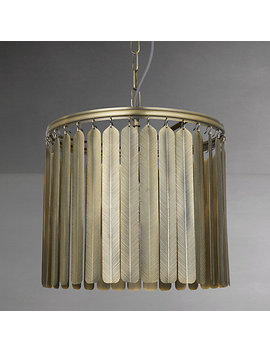 John Lewis Indriya Ceiling Light, Antique Brass by John Lewis