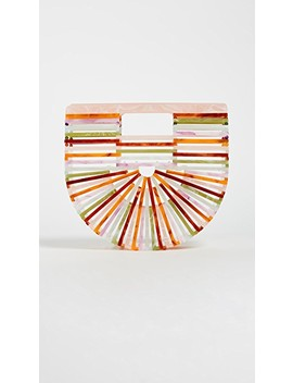 Acrylic Ark Mini Clutch by Cult Gaia