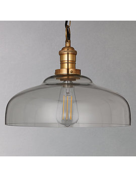 Croft Collection Clyde Glass Pendant Ceiling Light by Croft Collection