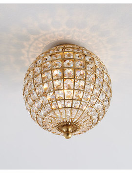 Renwick Small Flush Mount Ceiling Fixture by Aerin