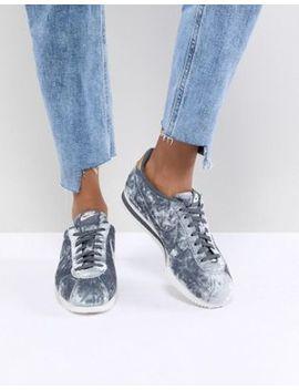 Nike Velvet Cortez In Grey by Nike