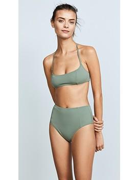 Swim Team Jessica Bikini Top by Solid &Amp; Striped