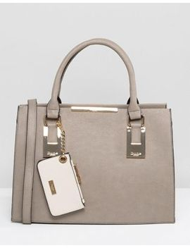 Dune Deedee Large Structured Tote Bag by Dune