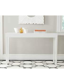 Safavieh Kayson White Lacquer Console Table by Safavieh