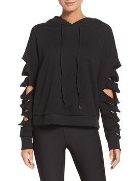 Slay Slashed Long Sleeve Hoodie by Alo