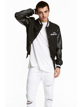 Baseball Jacket With Appliqués by H&M