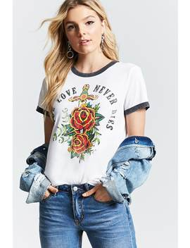 True Love Ringer Tee by F21 Contemporary